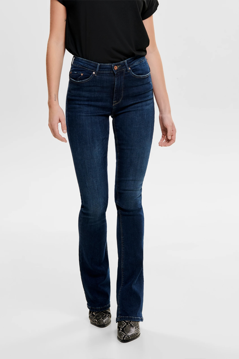 only flared jeans