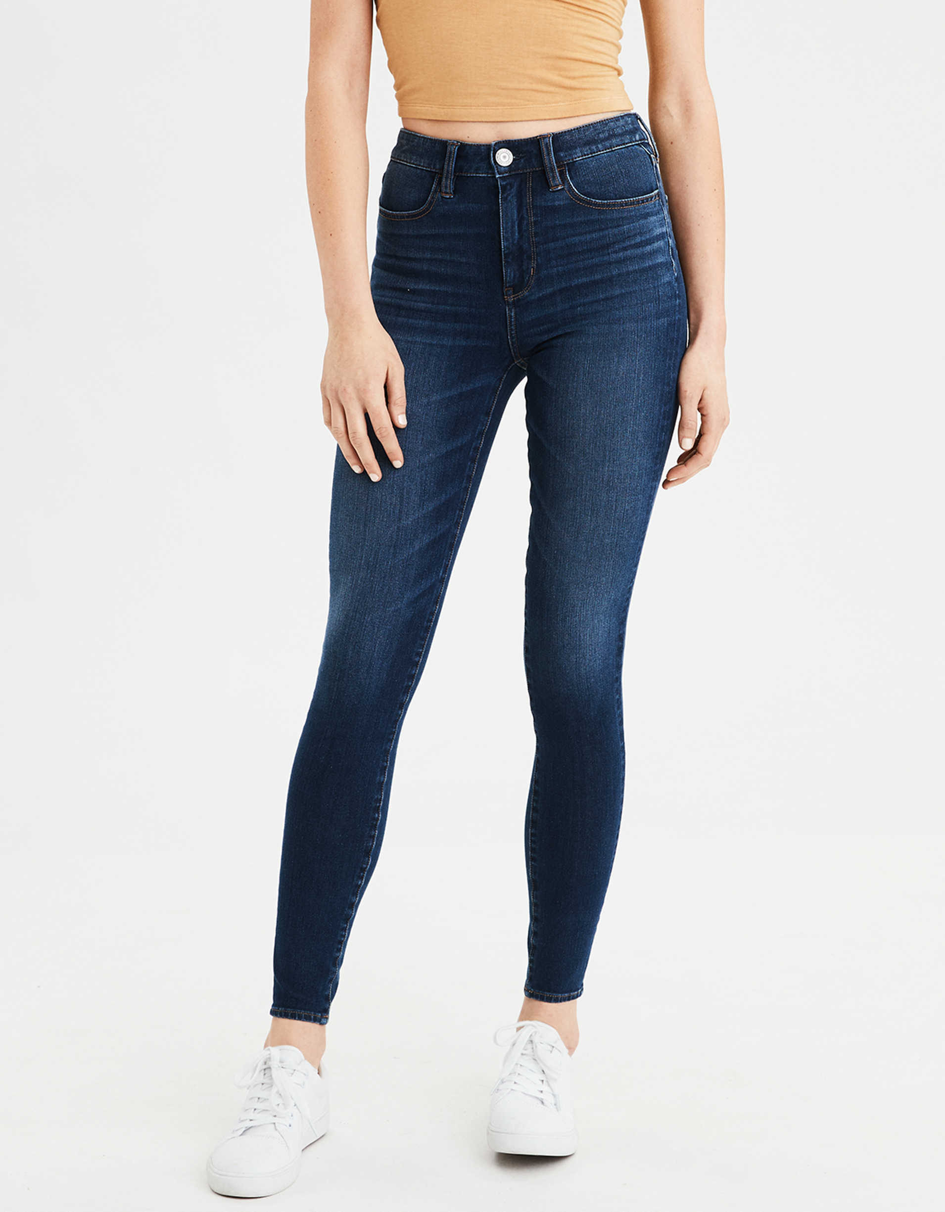 super high waisted jeans